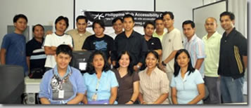 Successful CSS trainees pose together with Rey and Jojo (middle), Maam Grace and Nelia (seated).